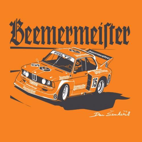 Pánské tričko s potiskem BMW 320i- Jägermeister