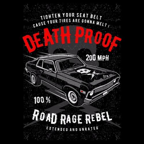 Dámské tričko s potiskem Death Proof