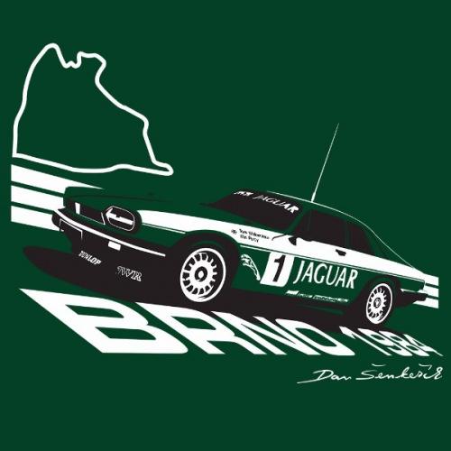 Pánské tričko s potiskem Jaguar XJS HE