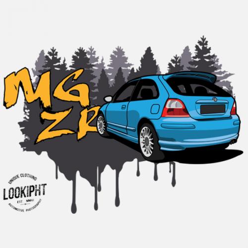 Dámské tričko s potiskem MG ZR