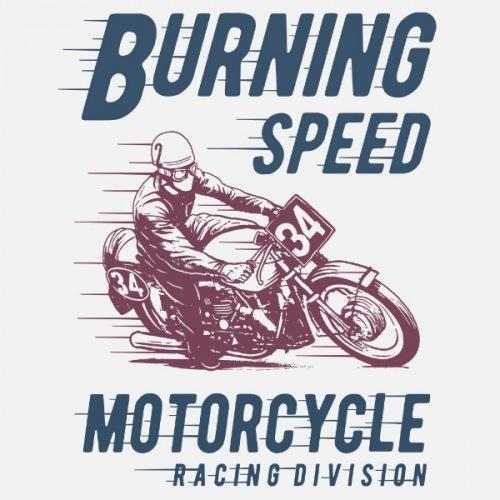 Pánské tričko s potiskem Burning Speed
