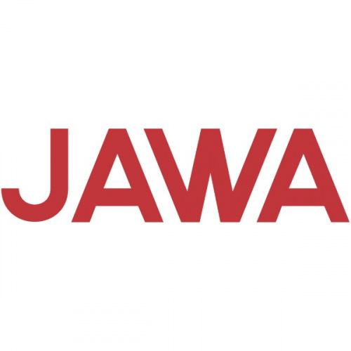 Dámské tričko s potiskem Jawa Logo Text 2