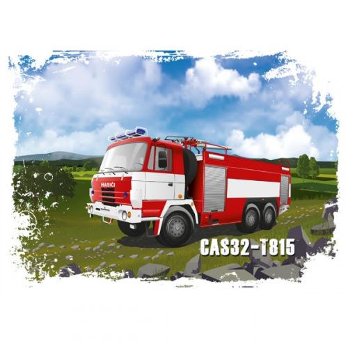 Pánské tričko s potiskem Tatra CAS 32-T815