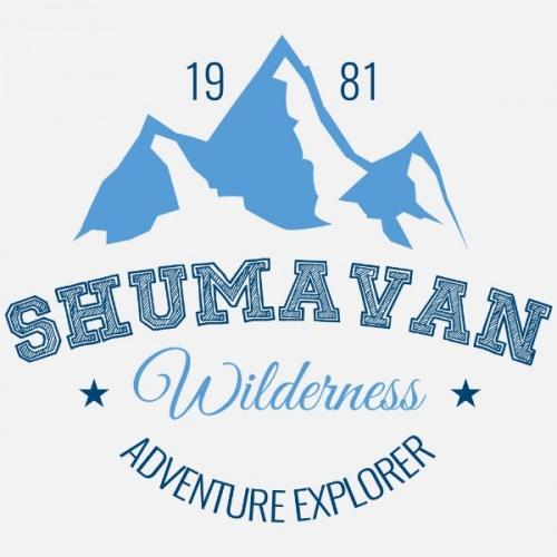 Dámské tričko s potiskem Shumavan Mountains