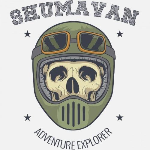 Pánské tričko s potiskem Shumavan Skull