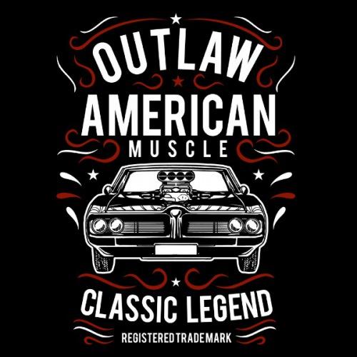 Pánské tričko s potiskem American Muscle 3