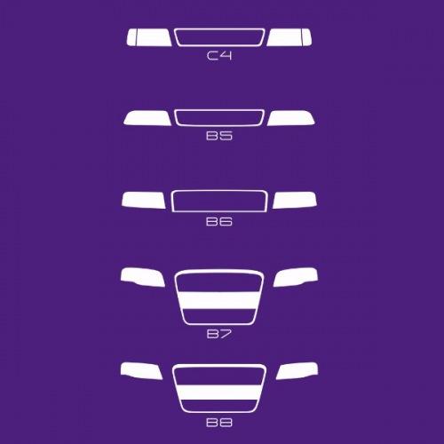 Dámské tričko s potiskem Audi Grill Basic