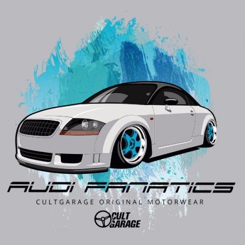 Dámské tričko s potiskem Audi TT: Fanatics