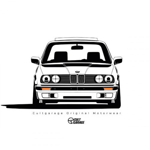 Pánské tričko s potiskem BMW e30 Front