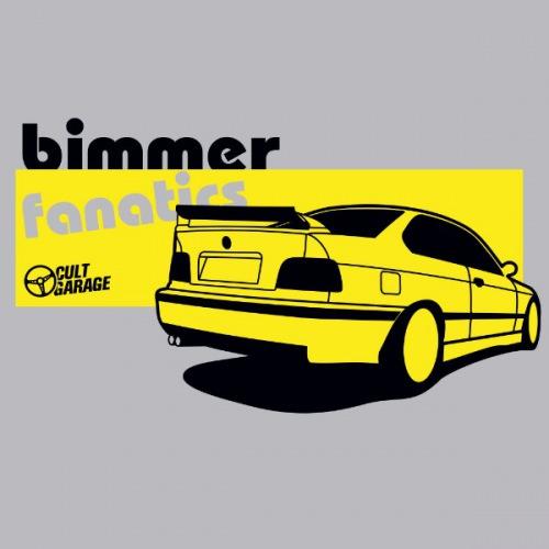 Dámské tričko s potiskem BMW e36: Bimmer fanatics