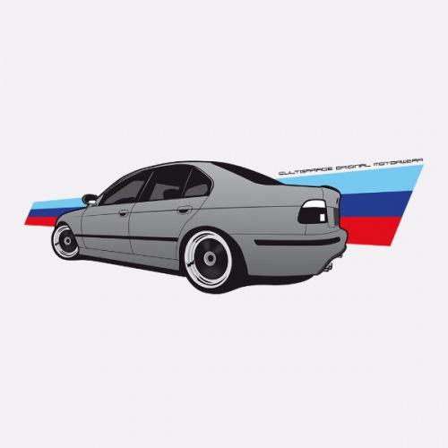 Dámské tričko s potiskem BMW e39 M5: 1
