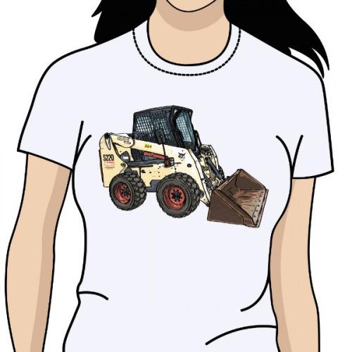 6e1a82c5d5fd Dámské tričko s potiskem Bobcat S220
