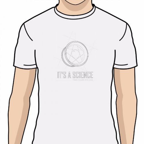 f300c7eccdf Pánské tričko s potiskem Wheels Borbet a Is a Sience 1
