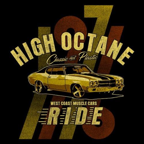Dámské tričko s potiskem Chevrolet SS High Octane