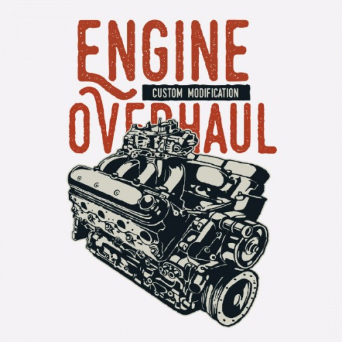 Dámské tričko s potiskem Engine Ex Machina 1