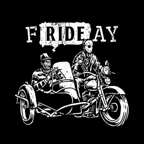 Dámské tričko s potiskem fRIDEay