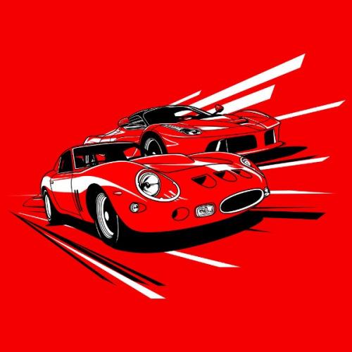 Dámské tričko s potiskem Ferrari Scuderia