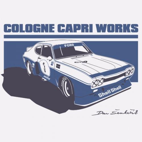 Dámské tričko s potiskem Ford Cologne Capri