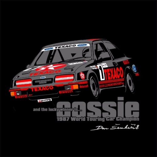 Men´s t-shirt Ford Sierra Cosworth Group A