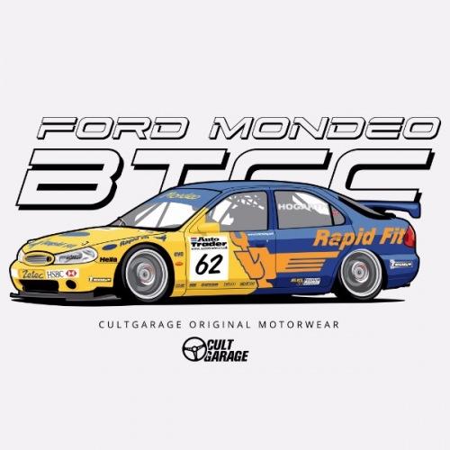 Dámské tričko s potiskem Ford Mondeo BTCC 1