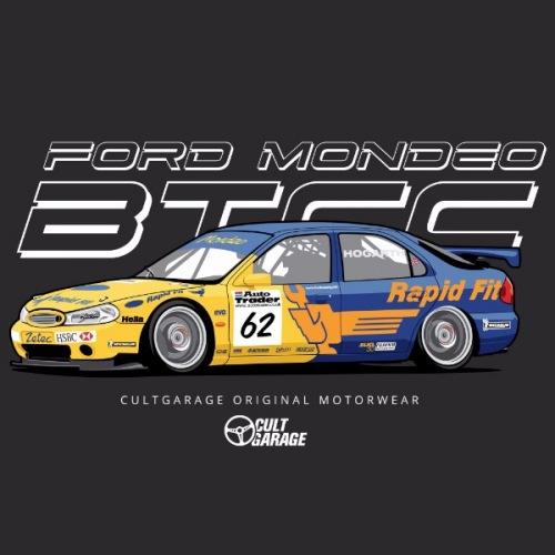 Dámské tričko s potiskem Ford Mondeo BTCC 2