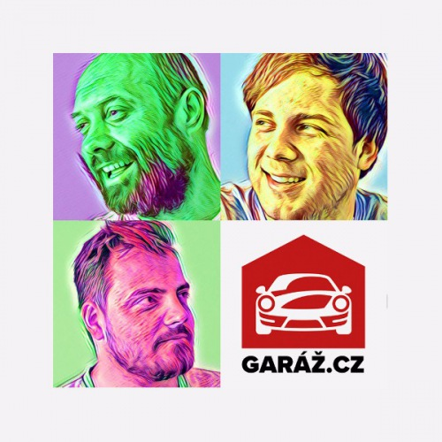Pánské tričko Garaz.cz - Obličeje + časopis Faster ZDARMA