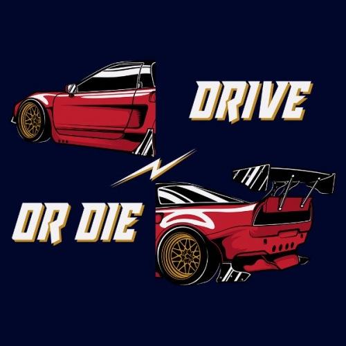 Dámské tričko s potiskem Honda NSX červená