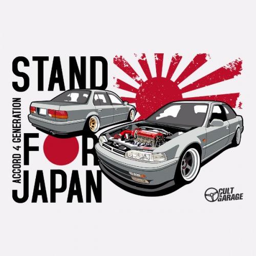 Dámské tričko s potiskem Honda Accord 4.gen