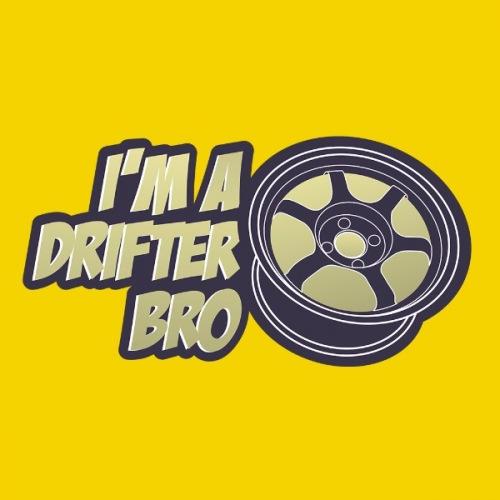Dámské tričko s potiskem I Am Drifter Bro 1