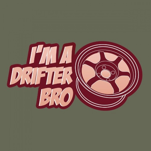 Pánské tričko s potiskem I Am Drifter Bro 2