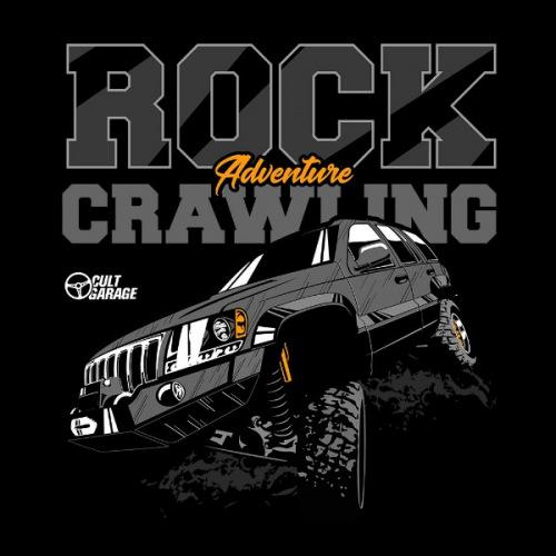 Dámské tričko s potiskem Jeep Grand Cherokee 2