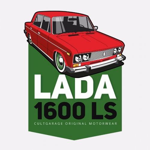 Dámské tričko s potiskem Lada 1600 LS Červená