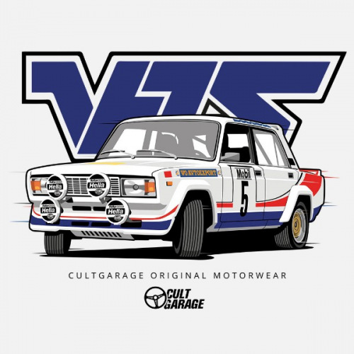 Dámské tričko s potiskem Lada 2105 VFTS 1