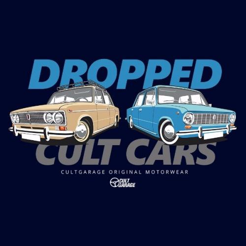 Dámské tričko s potiskem Lada Žiguli: Dropped 2