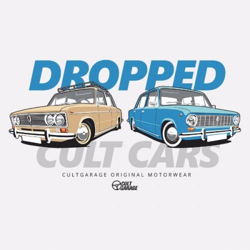 Dámské tričko s potiskem Lada Žiguli: Dropped 1