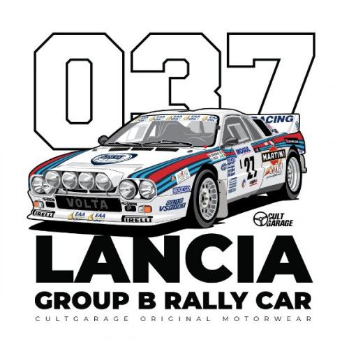 Dámské tričko s potiskem Lancia 037_1