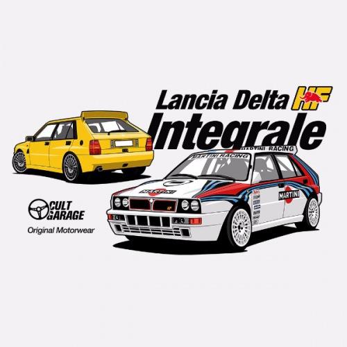 Dámské tričko s potiskem Lancia Delta Integrale 1