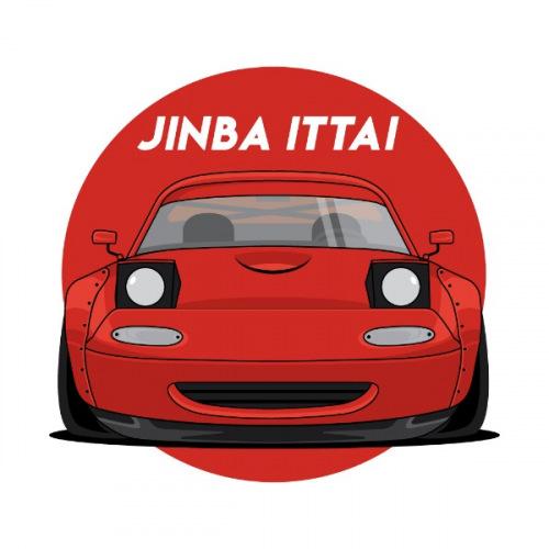 Dámské tričko s potiskem Mazda MX-5 NA Stock Red