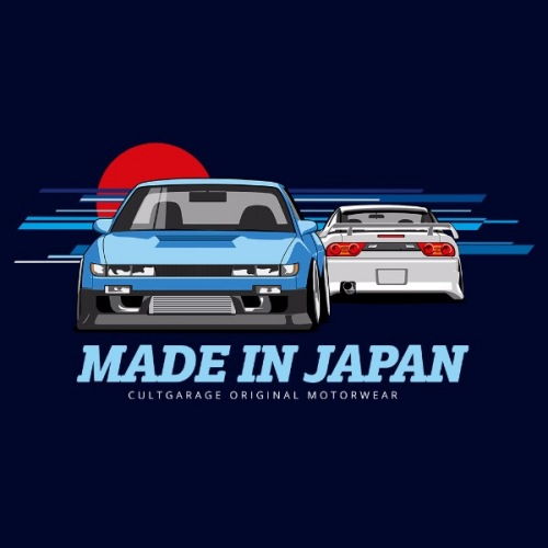 Dámské tričko s potiskem Nissan 240SX S13 2