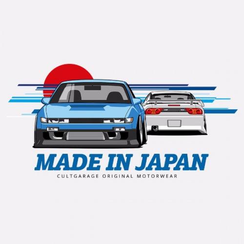 Dámské tričko s potiskem Nissan 240SX S13 1