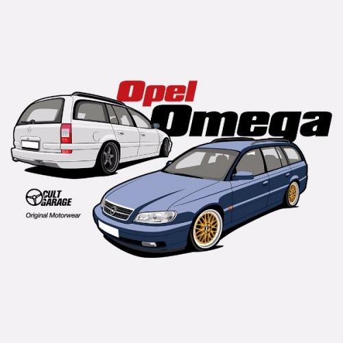 Pánské tričko s potiskem Opel Omega B2: 1