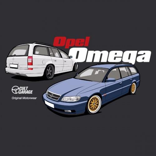 Dámské tričko s potiskem Opel Omega B2: 2