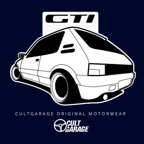 Pánské tričko s potiskem Peugeot 205 GTi 2