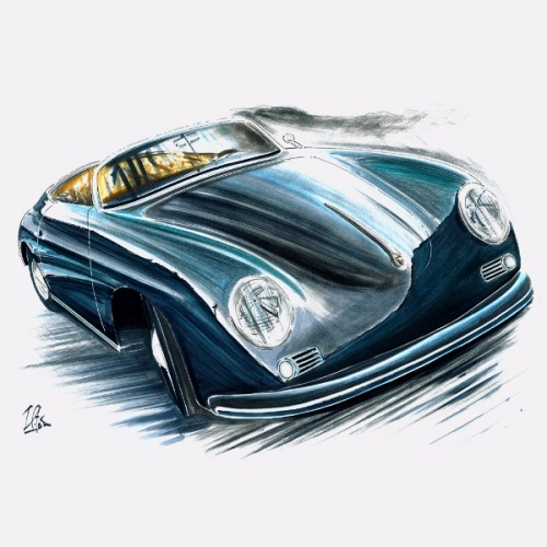 Men´s t-shirt Porsche 356 Speedster
