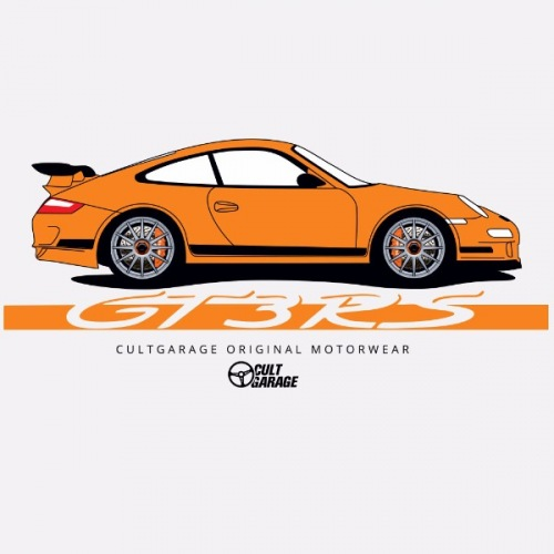 Dámské tričko s potiskem Porsche GT3 RS