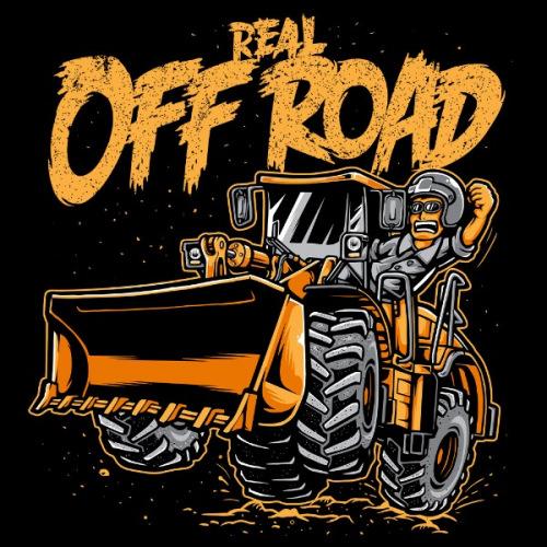 Dámské tričko s potiskem Real Off Road