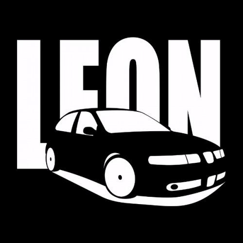 Dámské tričko s potiskem Seat Leon 1M 2
