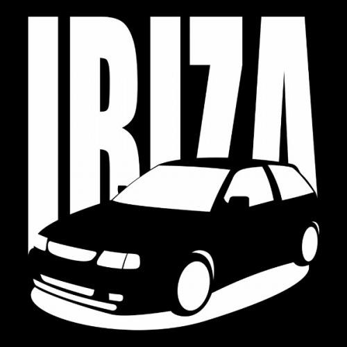 Dámské tričko s potiskem Seat Ibiza 6K2 bílá