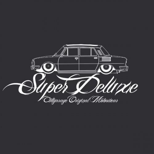 Dámské tričko s potiskem Škoda 100 Super Deluxe 2