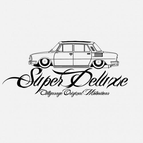 Dámské tričko s potiskem Škoda 100 Super Deluxe 1